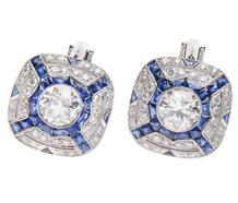Madison Avenue Stroll Diamond Earrings