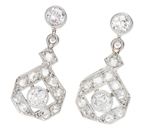 Diamond Delights Dangle Earrings
