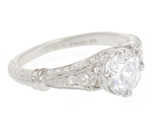 Mesmerizing Beauty - Diamond Engagement Ring