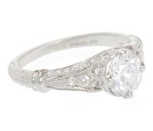 Mesmerizing Beauty - Diamond Engagement Ring
