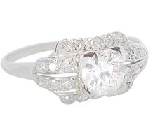 Elegant Diamond Diamond Ring
