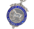 1925 British Horse Sterling Pendant