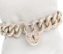 Heartfelt: Vintage Bracelet & Heart Clasp