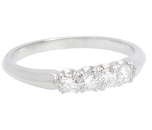 Celebration - Diamond Half Eternity Ring