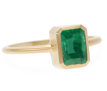 Simply Irresistible - Three Graces' Emerald Ring