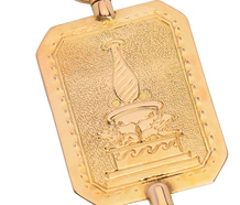 Swedish Ingenuity - 18k Watch Key Pendant