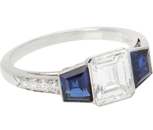 Imagine - Diamond Sapphire Ring
