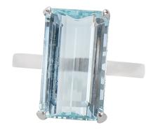 Echoes of Blue - Aquamarine Ring