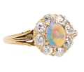 Hologram's Drama - Opal Ring c. 1900