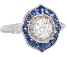 Take Me - Sapphire Diamond Dinner Ring