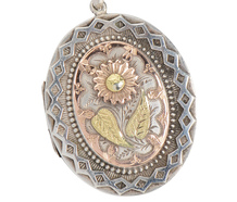 Still Life in Silver - Victorian Locket