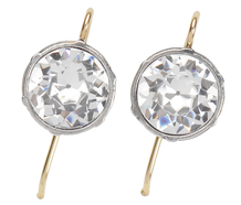 Night Magic – Solitaire Paste Earrings of 2.5 ct.