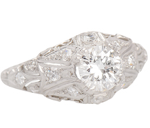 Fascination - Diamond Filigree Ring
