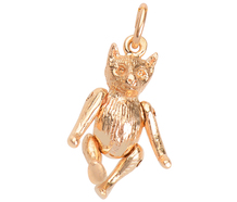 Always There - Gold Teddy Bear Charm