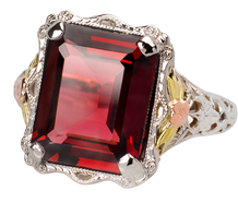 Picture This - Vintage Garnet Ring