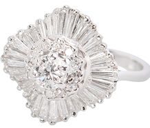 Brava - Diamond Ballerina Ring