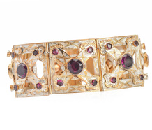 Aluminum Inspired Victorian Bracelet