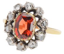 Orange Glow - Spessartite Garnet Ring