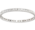 Art Deco Stars - Sterling Paste Bracelet