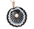 Victorian Romance - Scallop Shell Pendant