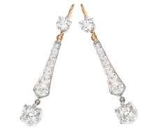 Icicles of Light - Diamond Earrings