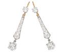 Icicles of Light - Diamond Earrings
