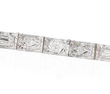 American Spice - Art Deco Diamond Bracelet