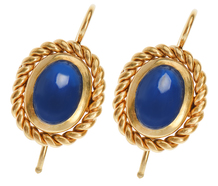 Azure Days Sapphire Earrings