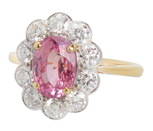 Hope Springs Ever - Pink Sapphire Ring