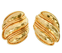 Henry Dunay 18k Gold Earrings
