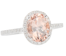 New Heights - Morganite Diamond Ring