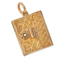 By the Book - Victorian Locket Pendant