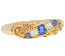 Sapphire Diamond Ring of 1897
