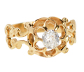 Romance in a 19th C. Diamond Ring
