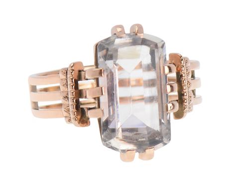 Prediction - Antique Rock Crystal Ring