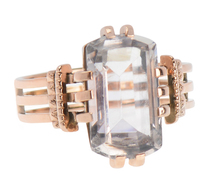 Prediction - Antique Rock Crystal Ring