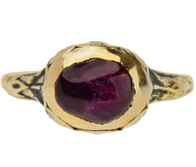 Rembrandt's Reign - Ruby Ring of Circa 1670