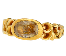 Mellow Yellow - Topaz Gold Ring