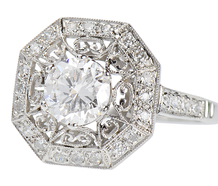 Wunderkind - Diamond Platinum Ring