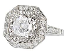 Wunderkind - Diamond Platinum Ring