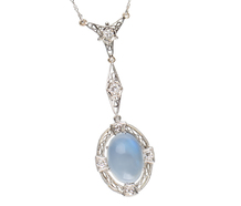 Heaven Aloft - Moonstone Necklace