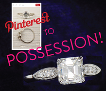 Pinterest to Possession! Custom Made Rings