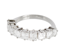 Sleek Diamond Half Eternity Ring