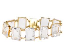Fab 1940s Rock Crystal Bracelet