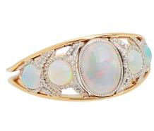 Opal Quintet Vintage Ring