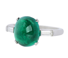 Biarritz Bauble - Exceptional Emerald Ring