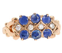Game of Stones - Sapphire Diamond Ring