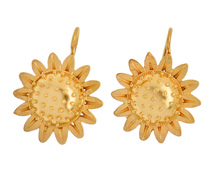 Sunflower Burst - Edwardian Earrings