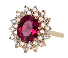 Ring of Distinction - Rubelite Diamond Ring