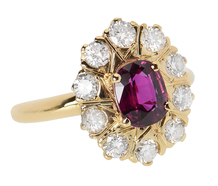 Wild & Wonderful - Ruby Diamond Ring